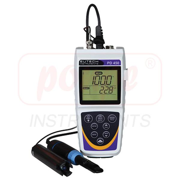 Waterproof Handheld pH/ORP/DO Meter PD 450