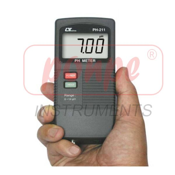 PH-211 LUTRON pH meter เครื่องวัดกรดด่าง
