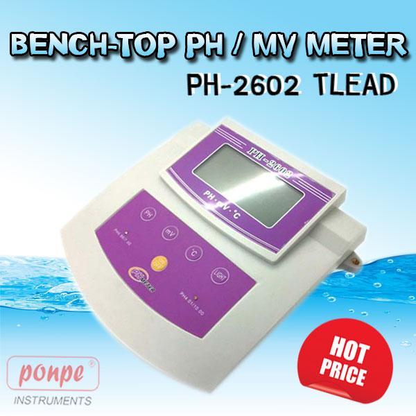 เครี่องวัดกรดด่าง BENCH-TOP PH / MV METER PH-2602