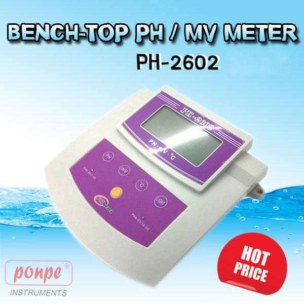 PH-2602 / JEDTO pH Meters PH / MV METER