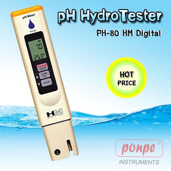 PH-80 HM DIGITAL pH Meter pH Meter