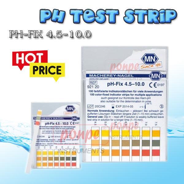 ก้านวัดกรด ด่าง pH Test Strip pH-Fix 4.5-10.0
