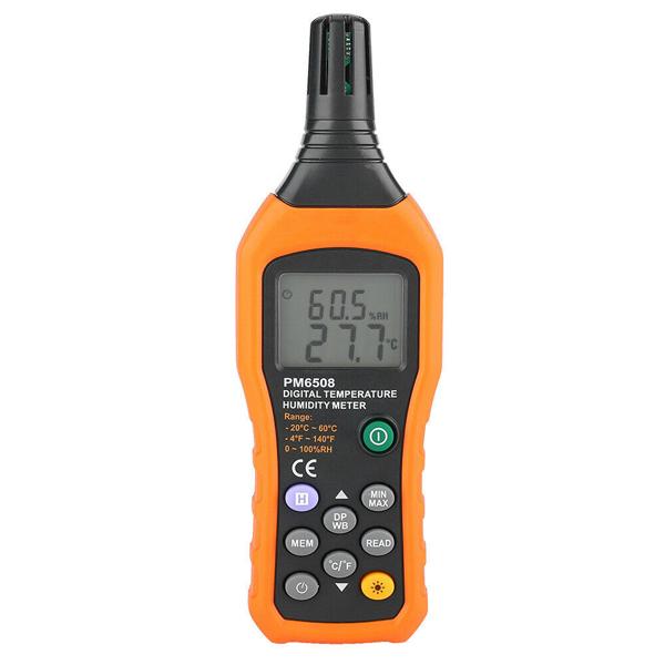 PM6508 / PEAKMETER เครื่องวัดอุณหภูมิ ความชื้น