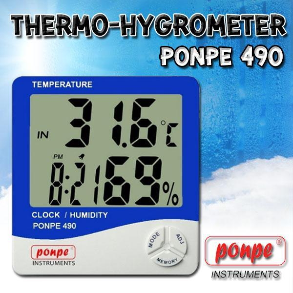 PONPE 490 / PONPE INSTRUMENTS Thermo-Hygrometer