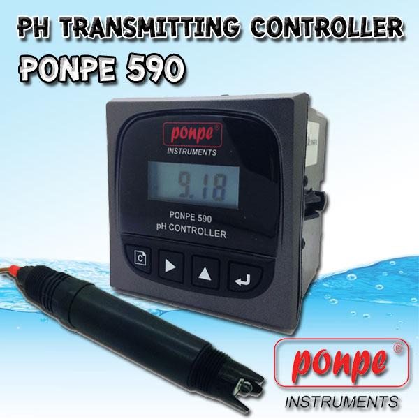 PONPE 590 PONPE Instruments เครื่องวัดและควบคุม pH