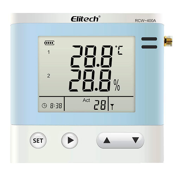 RCW-400A / ELITECH Wireless Temperature and Humidity Data Logger