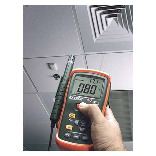 RH101 / EXTECH เครื่องวัดอุณหภูมิ ความชื้น และวัดอุณหภูมิ แบบอินฟาเรด