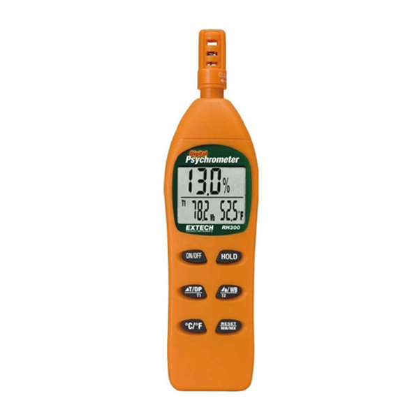 RH300-NIST / Extech Digital Hygro-Thermometer Psychrometer with NIST