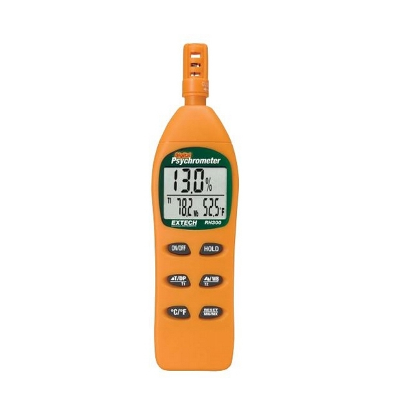 RH305-NIST / Extech Digital Hygro-Thermometer Psychrometer with NIST