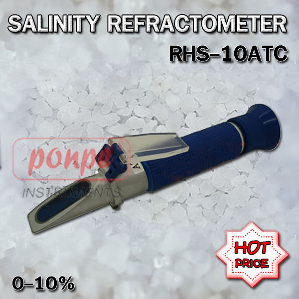 RHS-10ATC / JEDTO เครื่องวัดความเค็ม Salinity Refractometer