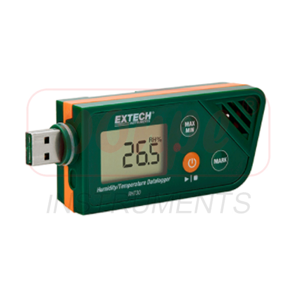 RHT30 / EXTECH เครื่องบันทึกข้อมูลอุณหภูมิความชื้น USB Humidity/Temperature Datalogger