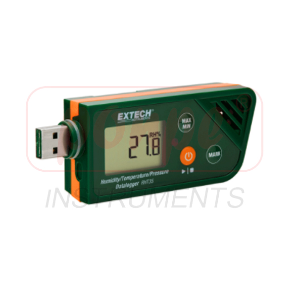 RHT35 / EXTECH เครื่องบันทึกข้อมูลความดันความชื้น/ อุณหภูมิ / ความดันของบรรยากาศ USB Humidity/Temperature/Barometric Pressure Datalogger