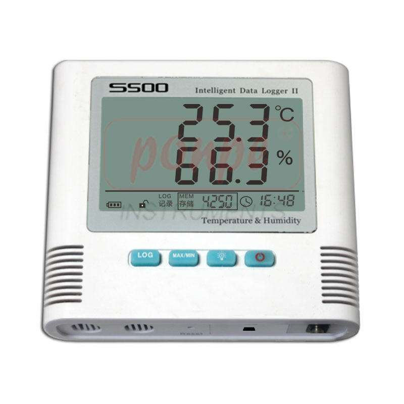 Temperature Humidity Datalogger with SMS Aleart S500-TH