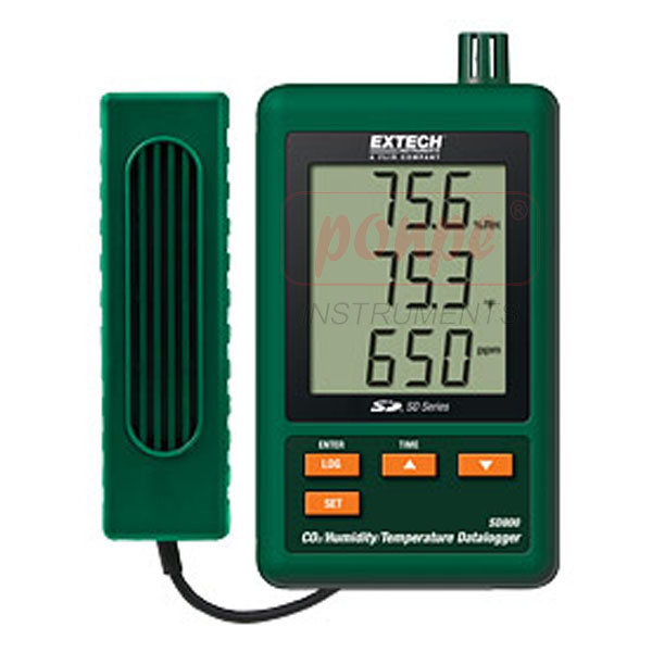 SD800: CO2/Humidity/Temperature Datalogger