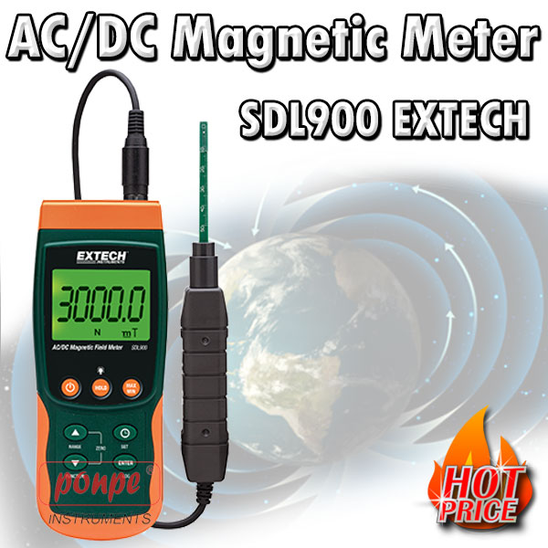 SDL900 AC/DC Magnetic Meter/Datalogger