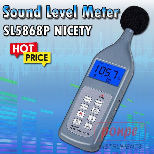 SL5868P / NICETY เครื่องวัดเสียง Sound Level Meter
