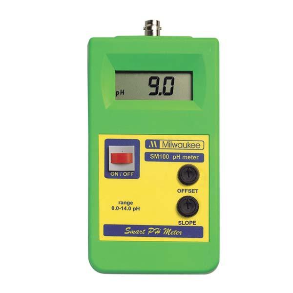 SM100 Milwaukee เครี่องวัดกรดด่าง pH Meter