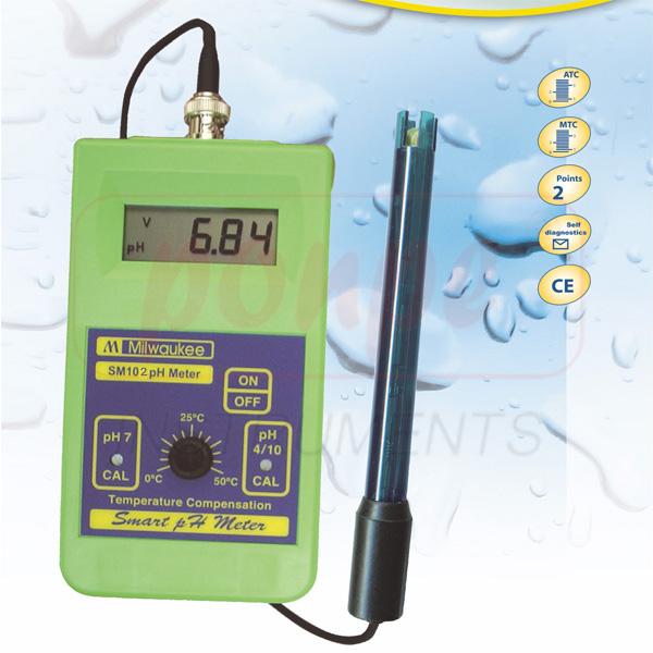 SM102 pH Meter