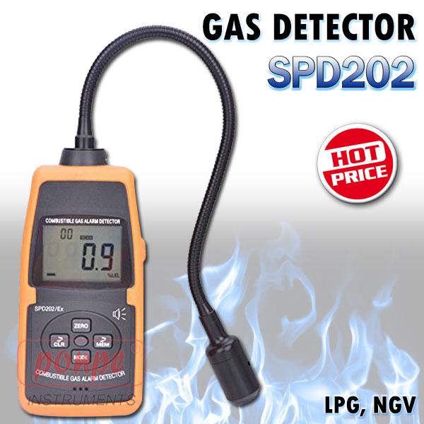 เครื่องตรวจจับแก๊ส Gas Detector SPD202