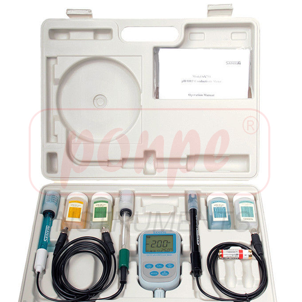 SX731 SANXIN Portable pH/ORP/Conductivity Meter