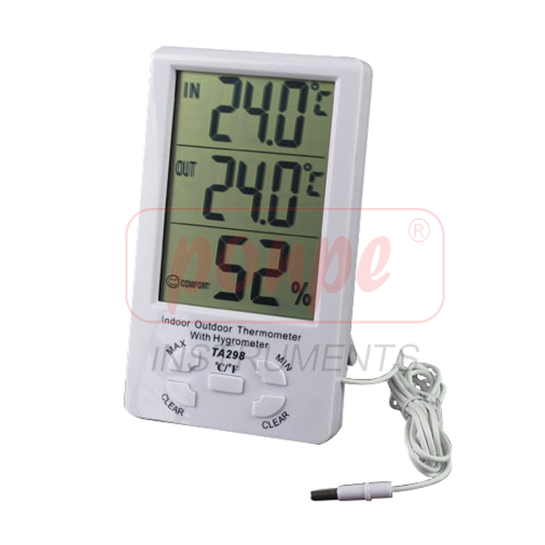 TA298 / JEDTO เครื่องวัดอุณหภูมิ ความชื้น Thermo-Hygrometer