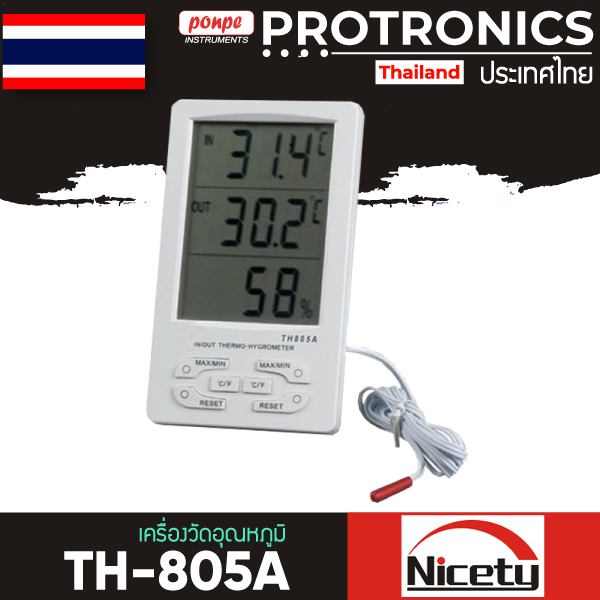 Hygro-Thermometer THERMOMETER THERMOMETER TH-805A