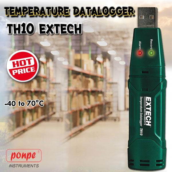 TH10 Extech Temperature Data logger เครื่องบันทึกอุณหภูมิ USB