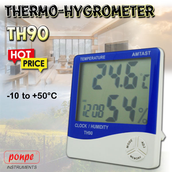 TH90 Thermo-Hygrometer Thermo-Hygrometer