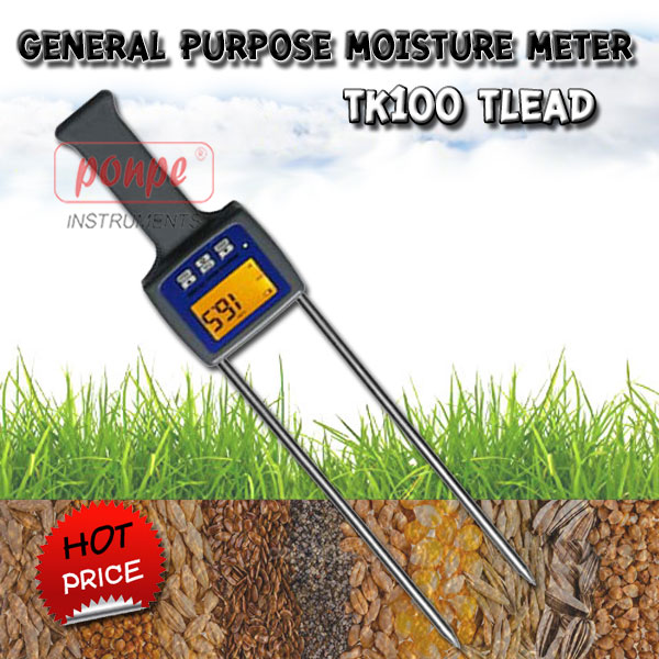 General Purpose Moisture Meter TK100