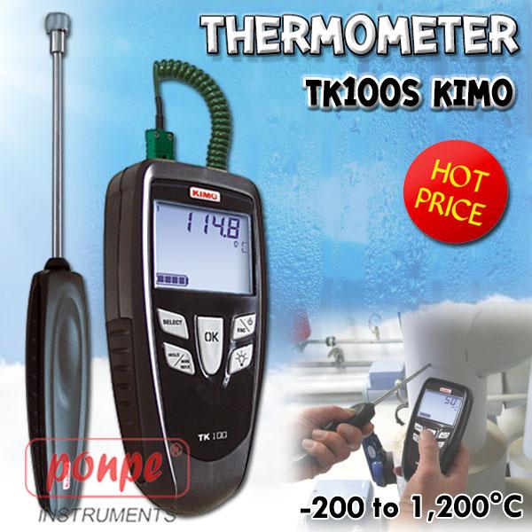 เครื่องวัดอุณหภูมิ thermometer รุ่น TK100S