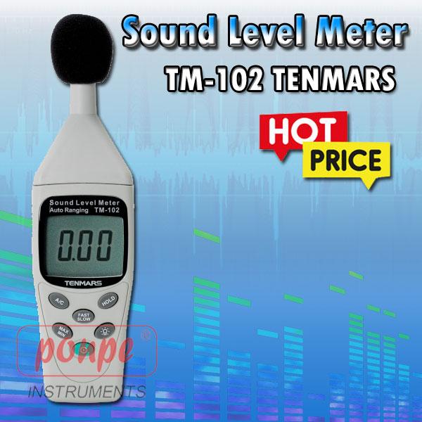 TM-102 TENMARS เครื่องวัดระดับความดังเสียง