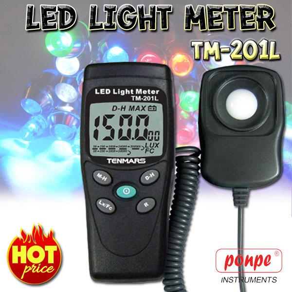 TM-201L TENMARS เครื่องวัดแสง LED Light (LUX/FC) Meter