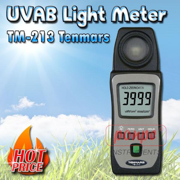 TM-213 Tenmars เครื่องวัดแสง UVAB