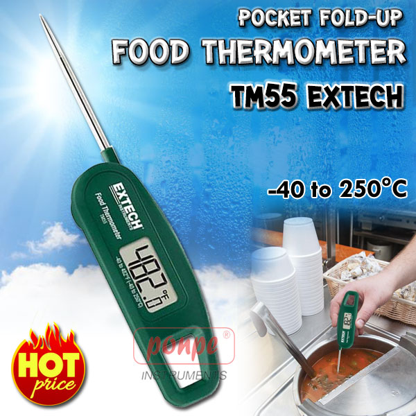 Pocket Fold-Up Food Thermometer TM55