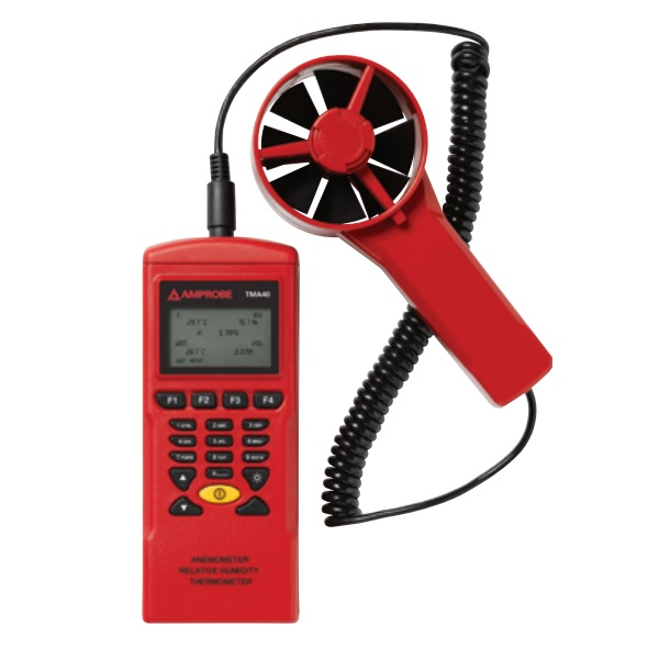TMA40-A / AMPROBE Wind speed recorder