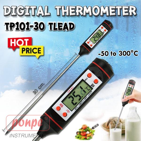 TP101-30 TLEAD เครื่องวัดอุณหภูมิ Digital Thermometer