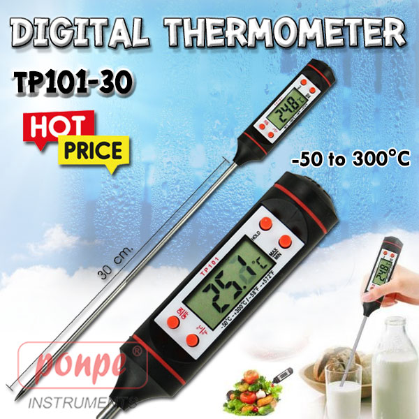 TP101-30 / JEDTO เครื่องวัดอุณหภูมิ Digital Thermometer