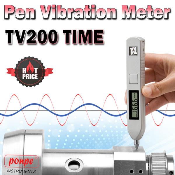 TV200 (TIME7120) TIME เครื่องวัดความสั่นสะเทือน Vibration pen