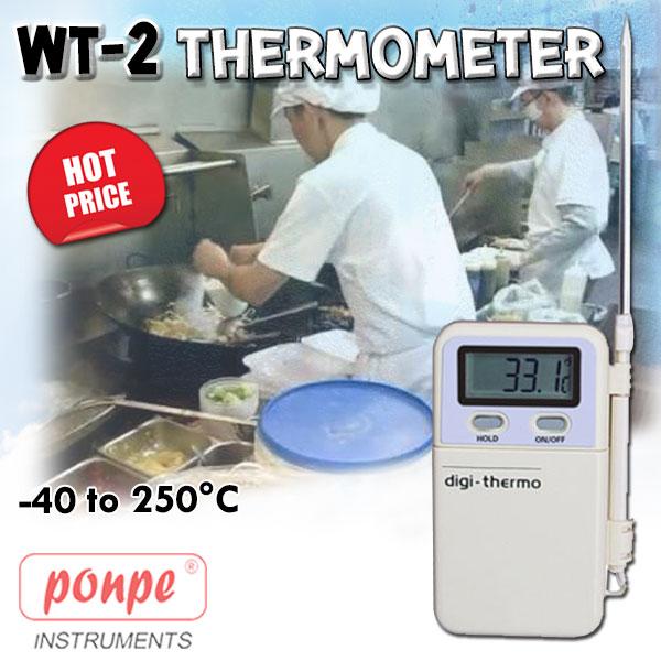 WT-2 / JEDTO เทอร์โมมิเตอร์ thermometer