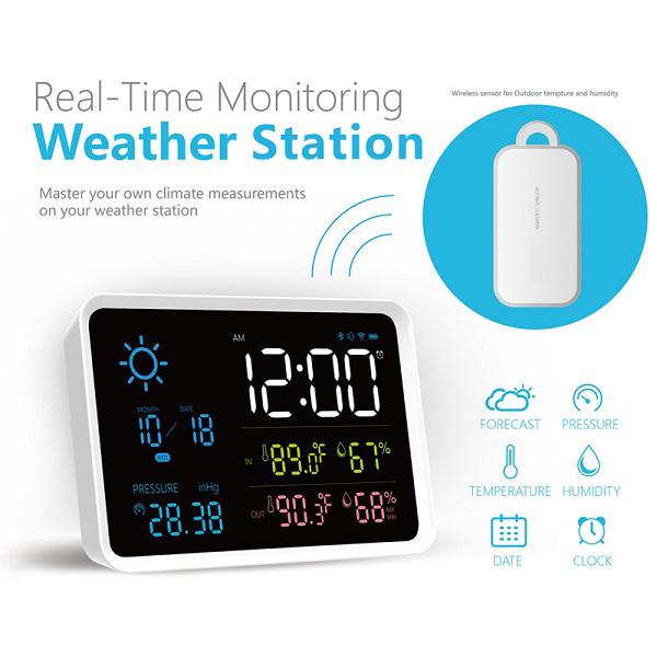 WTH902 / JEDTO Weather Station Wireless Weather Station