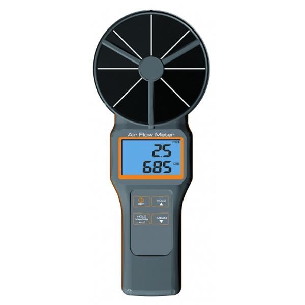 เครื่องวัดความเร็วลม 10cm Vane TEMP. & RH% & CO2 & FLOW 8919