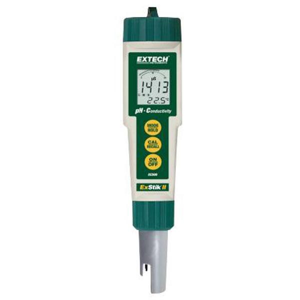 EC500 / EXTECH เครื่องวัดความนำไฟฟ้า, TDS, ความเค็ม,  pH และอุณหภูมิ