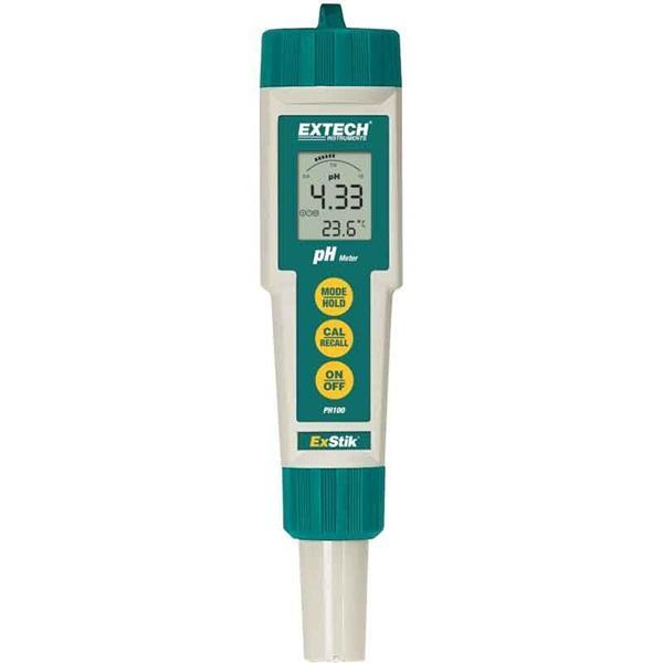 PH100 EXTECH  เครื่องวัดค่ากรดด่าง pH Meter