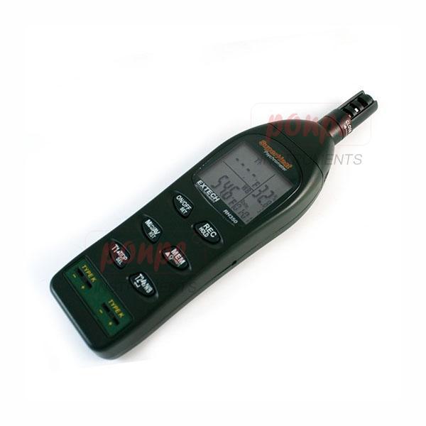 Dual Input Hygro-Thermometer Psychrometer RH350