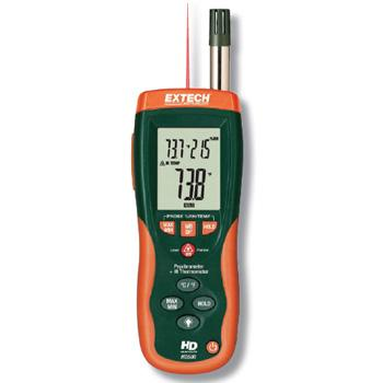 Psychrometer + IR Thermometer with GPP (g/kg) HD550 - เลิกผลิต