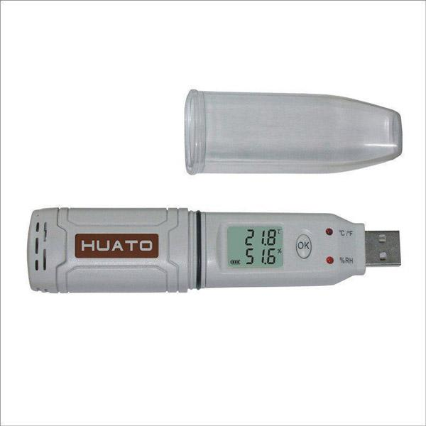 HE173 HUATO Temperature and Humidity Data Logger
