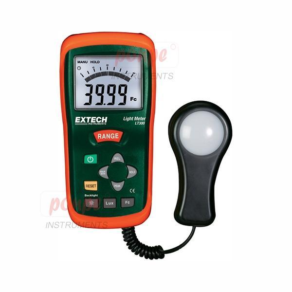 Light Lux Meter เครื่องวัดแสง Digital and Analog display LT300