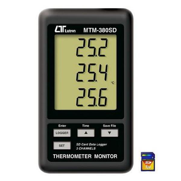 เครื่องวัดอุณหภูมิ รุ่น MTM-380SD