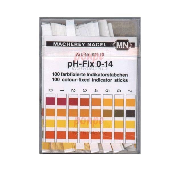 ก้านวัดกรด ด่าง pH Test Strip pH-Fix 0-14