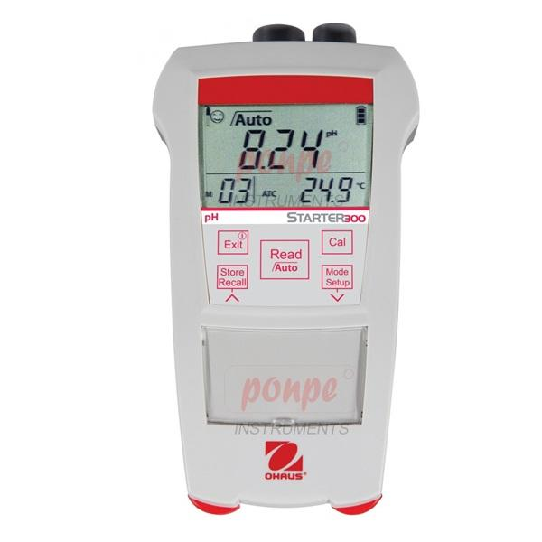Portable pH Meter With Electrode ST300 - Out of stock